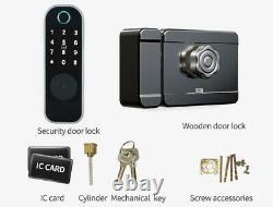 Smart Lock Fingerprint Door Lock Digital Electronic Entry Control Keyless ED3