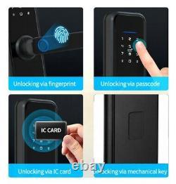 Smart Lock Fingerprint Door Lock Digital Electronic Entry Control Keyless X6-TY