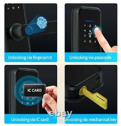 Smart Lock Fingerprint Door Lock Digital Electronic Entry Control Keyless X8-TY