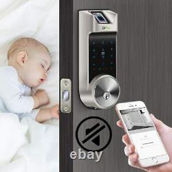 Smart Lock Fingerprint Door Lock Smart Deadbolt with Keypad 5-in-1 Keyless Entry