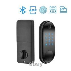 Smart Lock Keyless Electronic Bluetooth TTlock Biometric Fingerprint Keys Auto L