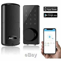 Smart Lock, Keyless Entry Door Deadbolt, Digital Electronic Bluetooth Keypad For