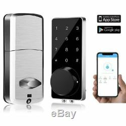 Smart Lock Keyless Entry Door Lock Deadbolt Digital Electronic Bluetooth Door