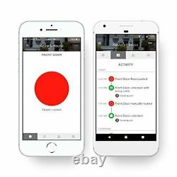 Smart Lock Pro for Secure Keyless Entry to Your Smart Home Dark Gray