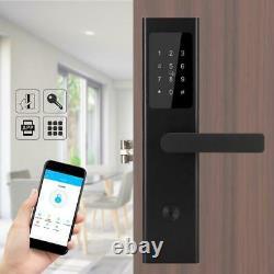 Smart Password Door Lock APP IC Card Key unlock Home Security Access Control