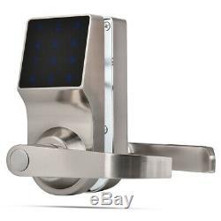 Smart Touch Screen Password keyboard Lock Remote Keyless Electronic Door Lock