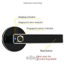 Stainless Steel Fingerprint Lock Smart Biometric Door-Touch Keyless Security Hot