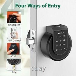Touch Smart Lock Deadbolt, Keyless Entry Door Lock with Fingerprint