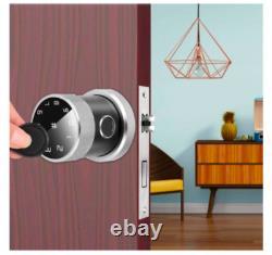 Touchscreen Fingerprint Bluetooth Keyless Entry Door Smart Lock Home 2020