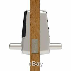 Touchscreen Keyless Smart Lever Door Lock Cerradura De Puerta Táctil Sin Llave