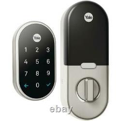 U Nest x Yale Lock Smart Door Lock Satin Nickel with Connect Keyless