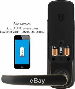 ULTRALOQ SmartCode Electronic Touchpad Fingerprint Door Smart Lock Keyless Entry