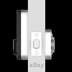 Ultaloq U-Bolt Smart Bluetooth Keyless Keypad Deadbolt Door Lock Satin Nickel