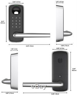 Ultraloq Lever Ultimate 4 in 1 Smart Door Handle lock keyless fingerprint