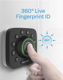 Ultraloq U-Bolt Pro Smart Lock Fingerprint Bluetooth Keyless (WiFi Supported)