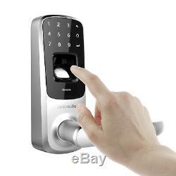 Ultraloq UL3 BT Bluetooth Fingerprint and Touchscreen Keyless Smart Door Lock