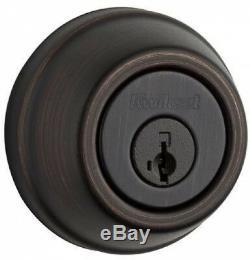 Venetian Bronze Home Connect Technology Keyless Entry Deadbolt Smart Door Lock