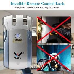 Wafu WF-018 Wireless Remote Control Electronic Smart Lock Keyless Door Lock 4