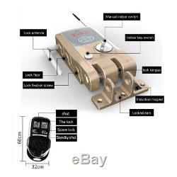 WiFi Bluetooth Smart Door Lock Card Wifi Keyless Doorlock Home Automatic US V2U9