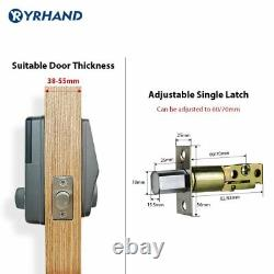 WiFi Keyless Keypad remote control Electronic Digital Smart Door lock TUYA APP