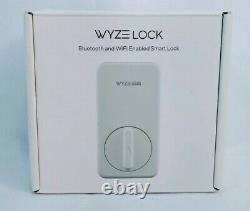 Wyze Lock WiFi and Bluetooth Enabled Smart Lock, Keyless Door Entry, Fits