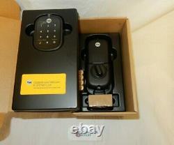 Yale Assure SL Smart Lock with Valdosta Lever, Keyless Entry with Auto-Lock (Black)