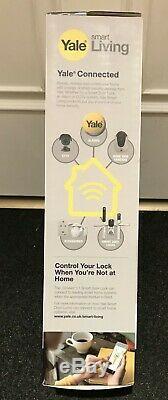 Yale Conexis L1 Chrome Handle Smart Door Lock Keyless Bluetooth BRAND NEW