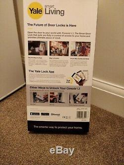 Yale Conexis L1 Keyless Smart Door Lock Satin Nickel