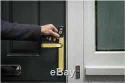 Yale Conexis L1 Smart Door Lock Polished Brass Keyless Bluetooth Security Handle