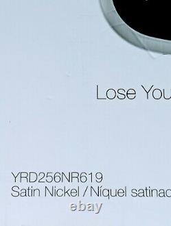 Yale Security Assure Lock SL KEYLESS Touchscreen Deadbolt Nickel YRD256-NR-619