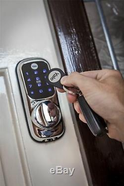 Yale Smart Door Lock Keyless Connected Wall Mount Home Safety Door Security