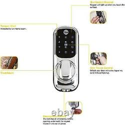 Yale Smart Living Keyless Connected Ready Smart Door Lock Chrome