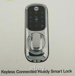 Yale Smart Living YD-01-CON-NOMOD-CH Keyless Connected Ready Smart Door Lock