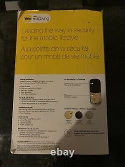 Yale smart lock- Yale B1L Keyless Push Button Lock- Brand New