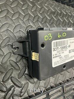 03 Ford F250 F350 Multifonction Anti-theft Module Sans Clé 3c7t-15k602-ae