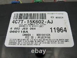 04-07 Ford F250 F350 Multifunction Anti-theft Module Sans Clé 4c7t-15k602-aj 7565