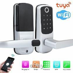 100 Fingerprint Electronic Door Lock Smart Digital Keyless Password Card Key Key