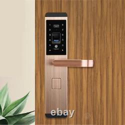 100 Groupes Fingerprint Smart Door Lock Digital Password Touch Keyless Deadbolt