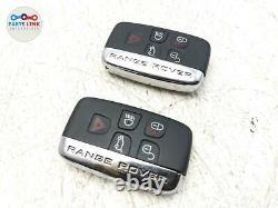2012-2016 Range Rover Sport L494 Serrure À Distance D'allumage Smart Key Moins Fobs Set-2