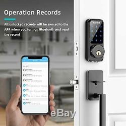 2020 Récent Intelligente De Verrouillage De Porte Avec Clavier, Accueil Télédéverrouillage Avec Votre Smartpho