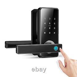 2021 Mettre À Jour Ruveno Fingerprint Door Lock, Smart Lever Door Lock, Entrée Sans Clé