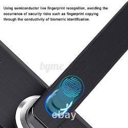 4 En 1 Smart Door Lock Keyless Security Fingerprint & Password Door Lock Us