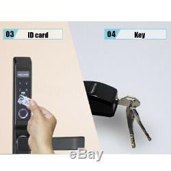 4 Façons D'empreintes Digitales Smart Électrique De Verrouillage De Porte Numérique Mot De Passe Carte D'identité Sans Clé