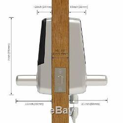 5-en-1 Sans Clé Smart Entry Verrouillage Électronique D'empreintes Digitales Touchpad Poignée Bluetooth