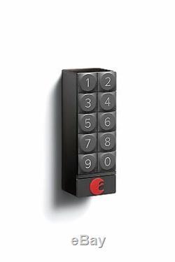 Août Smart Key Security Security (verrouillage De Porte) Entrée Sans Clé Ios App Android Pour Android (gris Foncé)