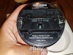 Août Smart Lock 2ème Génération Gris Foncé, Avec Alexa Works Lire S'il Vous Plaît