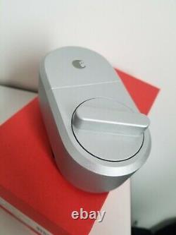 Août Smart Lock Entrée À Domicile Sans Clé Bolt Mort Argent Aug-sl04-m01-s04