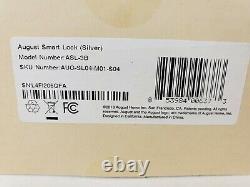 Août Smart Lock Keyless Home Entry Argent Marque Nouvelle Aug-sl04-m01-s04