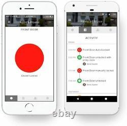 Août Smart Lock Sans Clé Accueil Entrée Avec Votre Smartphone Gris Foncé