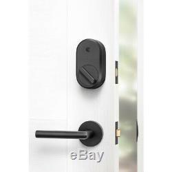 Août Smart Lock + Wifi Connect Sans Clé Homewith Votre Smartphone Gris Foncé